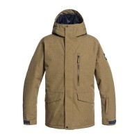 Quiksilver Mission Solid Jkt (Military Olive) - 21